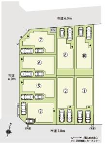 第45期東浦和区画図