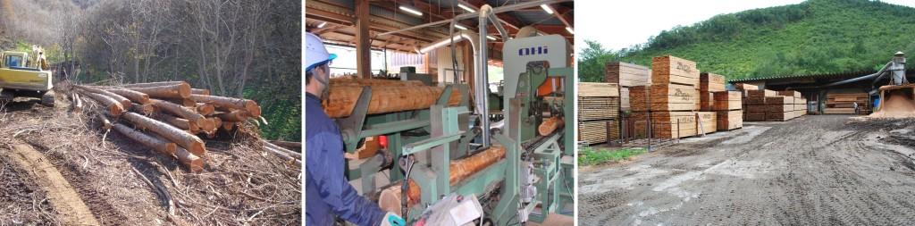 葛巻町製材工場
