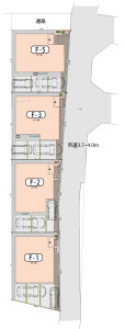 ナテュールヴィーレ浦和F街区区画図