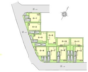 C街区区画図