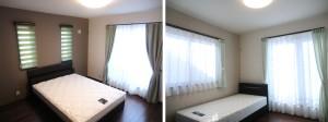 【ナテュールヴィーレ東浦和】ベッド、ダブル/シングル