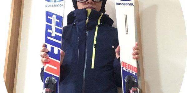 '18~'19シーズン、スキーニューマシーン!