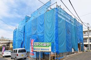 藤島住宅 南与野 現地写真