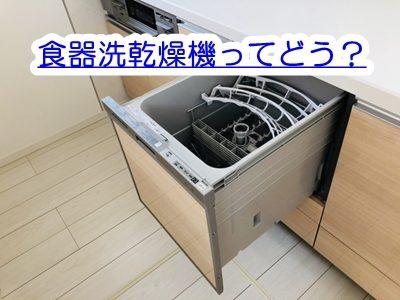 食器洗い乾燥機ってどう?