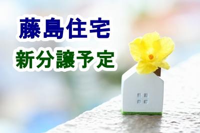 藤島住宅、新規分譲予定(さいたま市緑区大門・川口市前川)