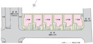 パークファミリア東川口区画図