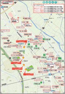 大門周辺地図