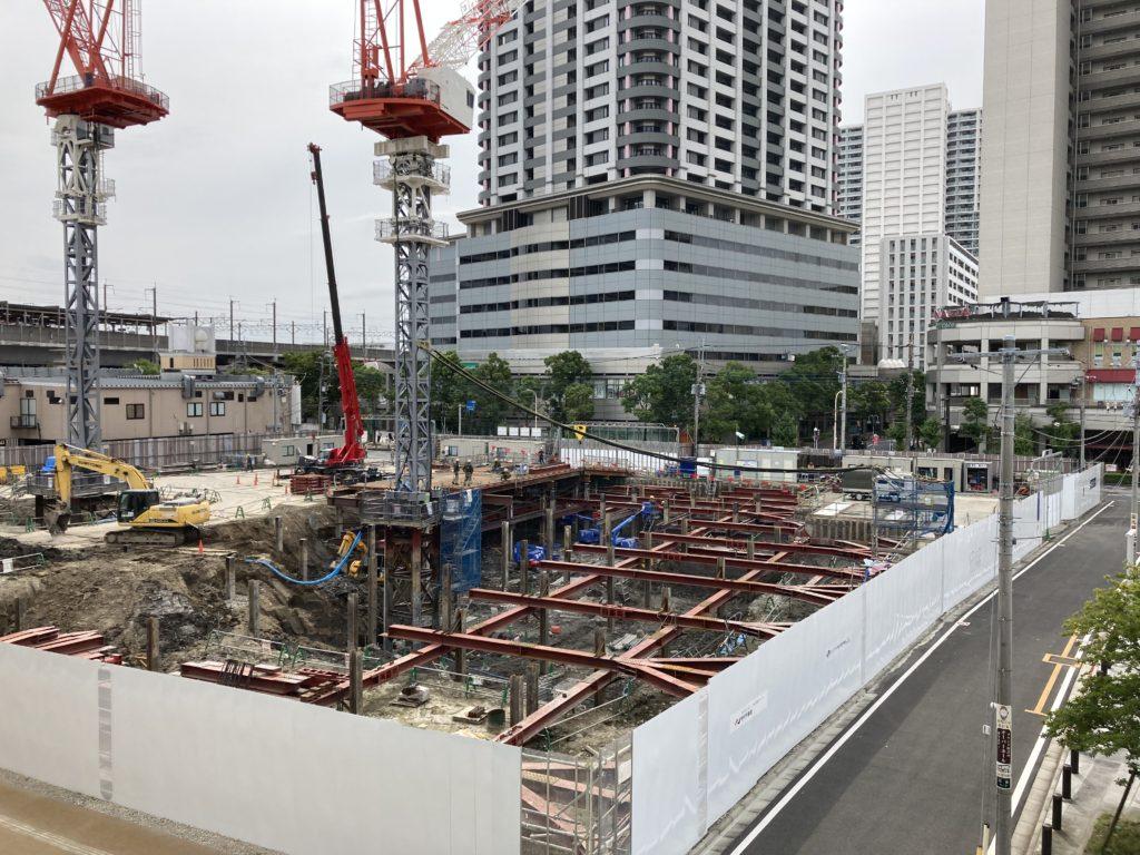 武蔵浦和駅プラウドマンション建築